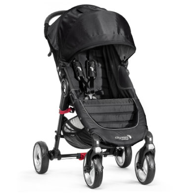 Baby Jogger Buggy City Mini 4 wheeler black-black