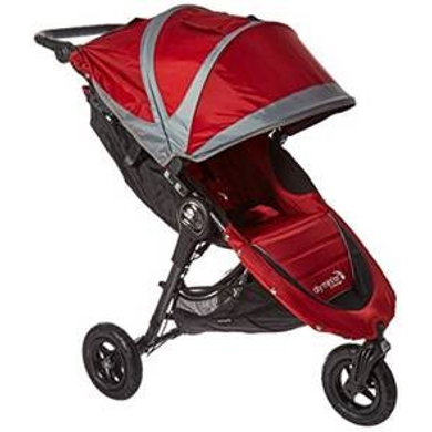 Baby Jogger Buggy City Mini GT crimson-gray