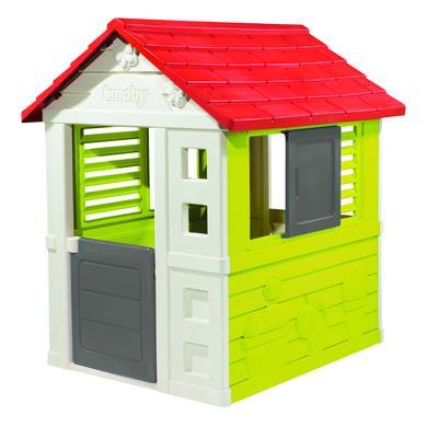 Spielhäuser und Sandkästen - Smoby Spielhaus Natur Haus  - Onlineshop Babymarkt