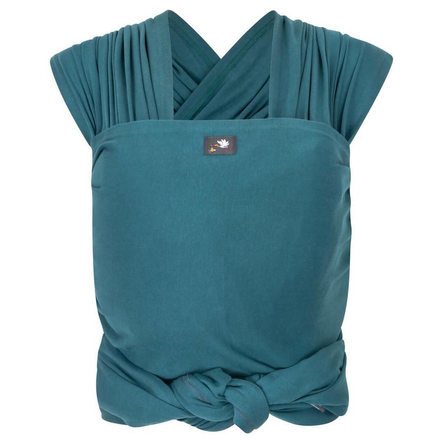 HOPPEDIZ Écharpe de portage élastique longue, bleu