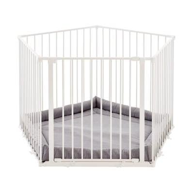Baby Dan ® Park-A-Kid Lekegrind i Hvit