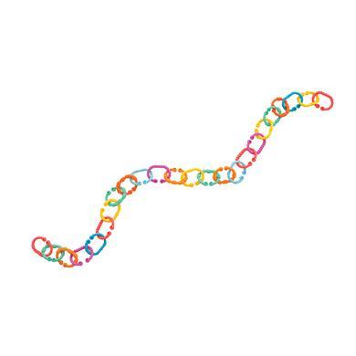 playgro řetízek na kočárek Loopy Links 40134 - pestrobarevná