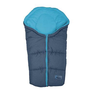 ALTABEBE Śpiworek zimowy Alpin do wózka kolor ciemnoszary|niebieski