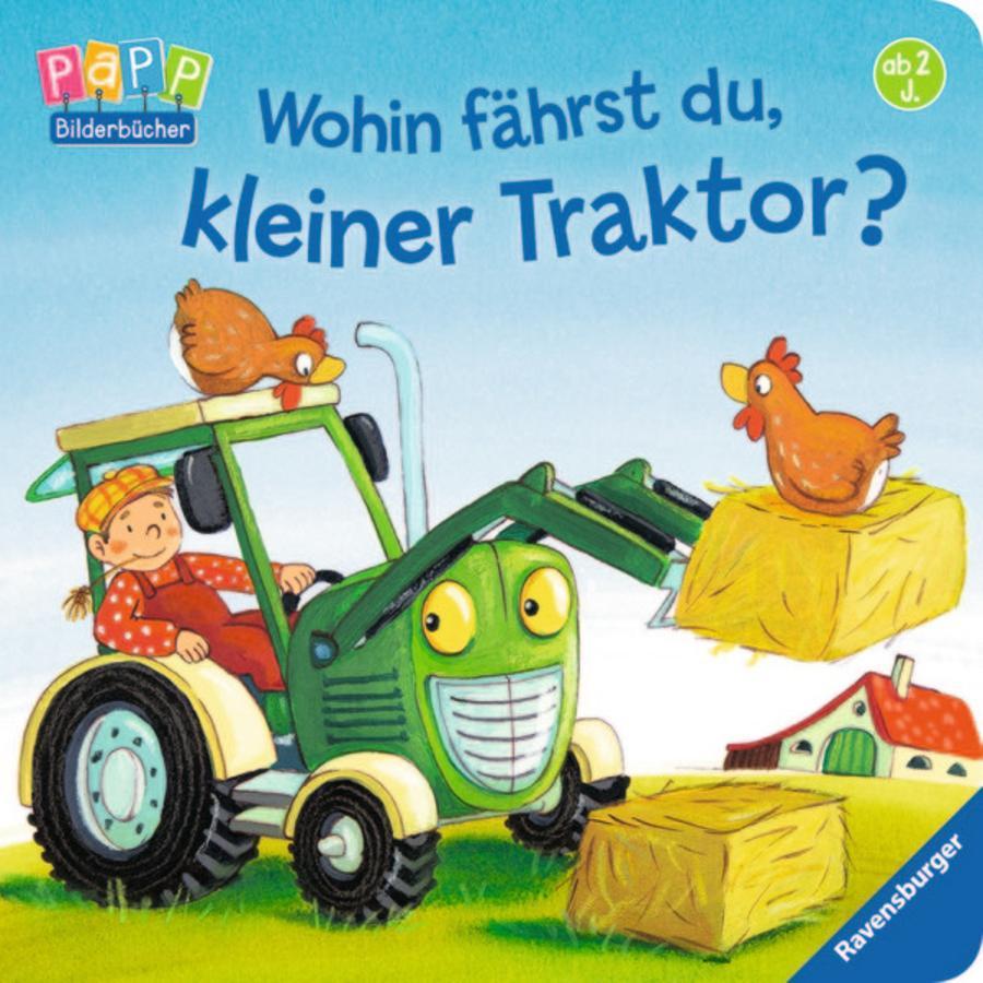 RAVENSBURGER Wohin fährst du, kleiner Traktor?