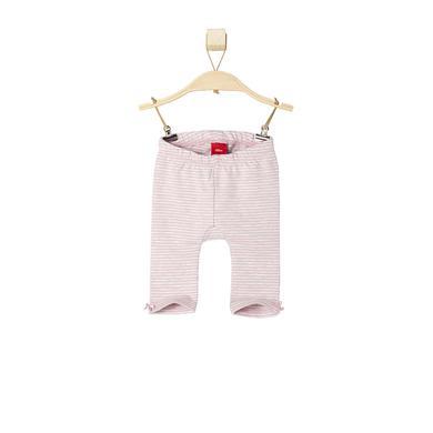 s.OLIVER Girls Baby Leggings pink stripes rosa pink Mädchen