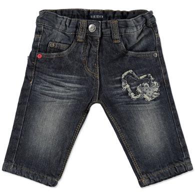 Babyhosen - BLUE SEVEN Girls Baby Mini Md Jeans gefüttert dunkelblau - Onlineshop Babymarkt