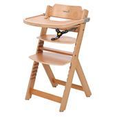 Safety 1st Barnstol Timba med sittdyna Wood pinkorblue.se