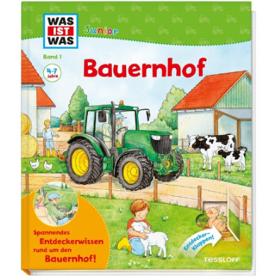 TESSLOFF, WAS IST WAS Junior Bauernhof