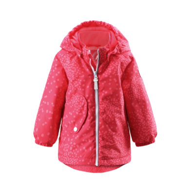 Reima  Girls Mini bunda Sleet flamingo red - červená