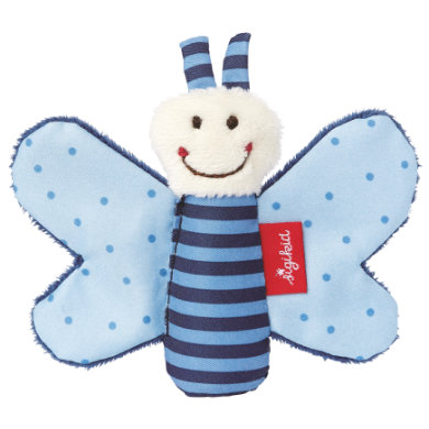sigikid ® Greifring Knister-Schmetterling blau Red Stars Collection