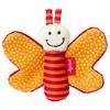SIGIKID Hochet de préhension Papillon qui grésille, orange