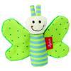 SIGIKID Hochet de préhension Papillon qui grésille, vert
