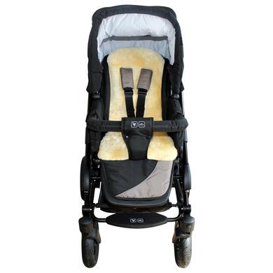 HEITMANN Lammfell-Auflage für Buggy, Sportwagen und Kindersitz