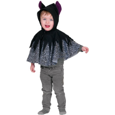 Kostuemefuerbabys - Funny Fashion Kostüm Fledermaus Babycape – schwarz - Onlineshop Babymarkt