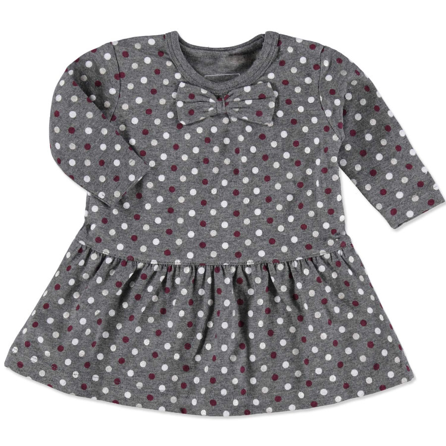 NAME IT Girls Baby Kleid NITPEGGY dark grey melange