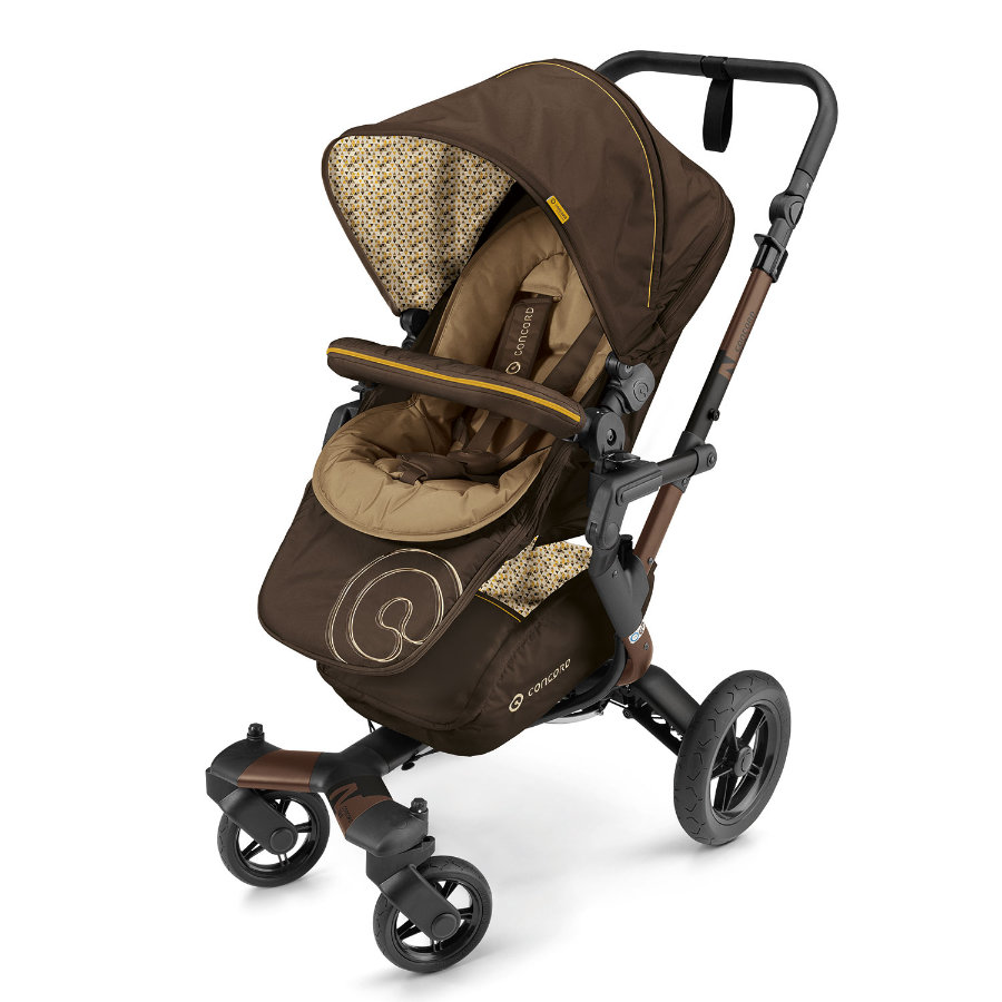 CONCORD Kinderwagen Neo Walnut Brown