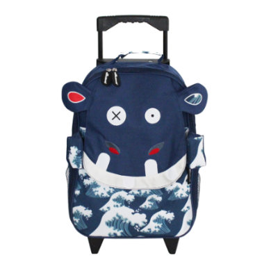 Kinderkoffer - LES DEGLINGOS® Trolley Hippipos - Onlineshop Babymarkt