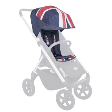 Easywalker  MINI Design Set Union Jack - modrá