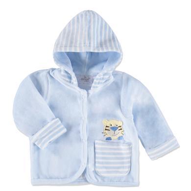 Babyjacken - EDITION4BABYS Nickyjacke mit Kapuze bleu - Onlineshop Babymarkt