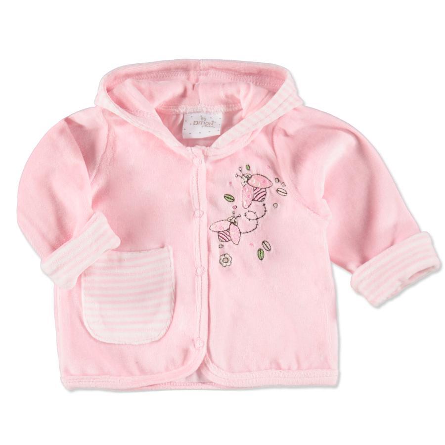 EDITION4BABYS Baby Coralfleece Jacke offwhite