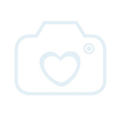 Dushi Kräusel-Decke, gestreift - pink