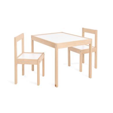 Sitzmöbel - Pinolino Kindersitzgruppe Olaf 3 tlg., natur weiß  - Onlineshop Babymarkt