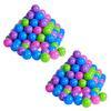 knorr® leketøy ballsett Ø 6cm, 200 stk, myk farge