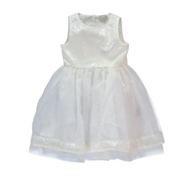 Minigirlroeckekleider - NAME IT Girls Kleid NITTILIKKA bone - Onlineshop Babymarkt