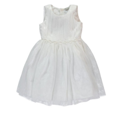 Minigirlroeckekleider - NAME IT Girls Kleid NITTIMIA bone - Onlineshop Babymarkt