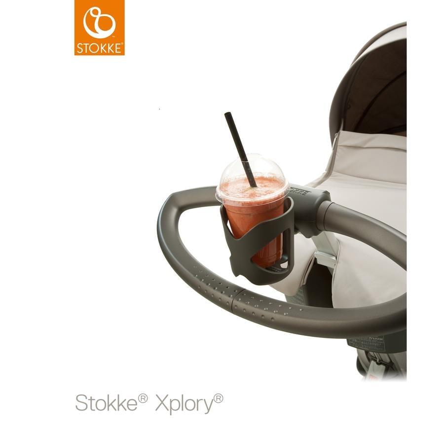 STOKKE® Kinderwagen Getränkehalter dunkelgrau