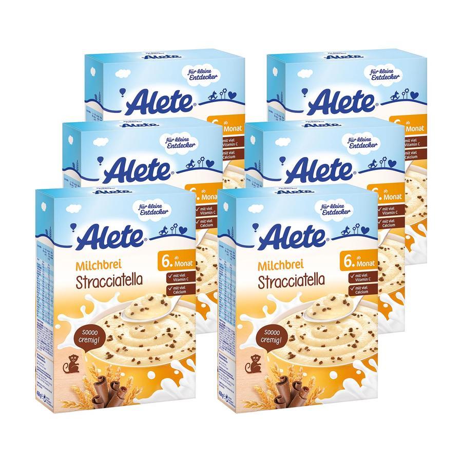 ALETE Milchbrei Stracciatella 6x450g