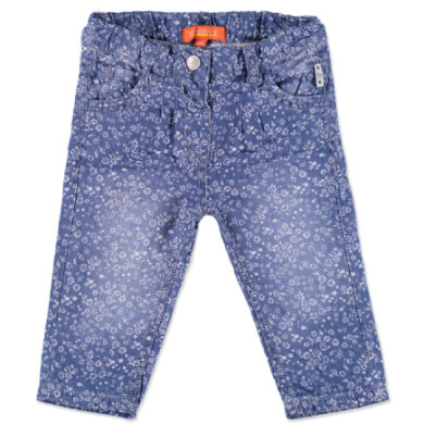 Staccato Girls Baby Jeans blue flower bunt Mädchen