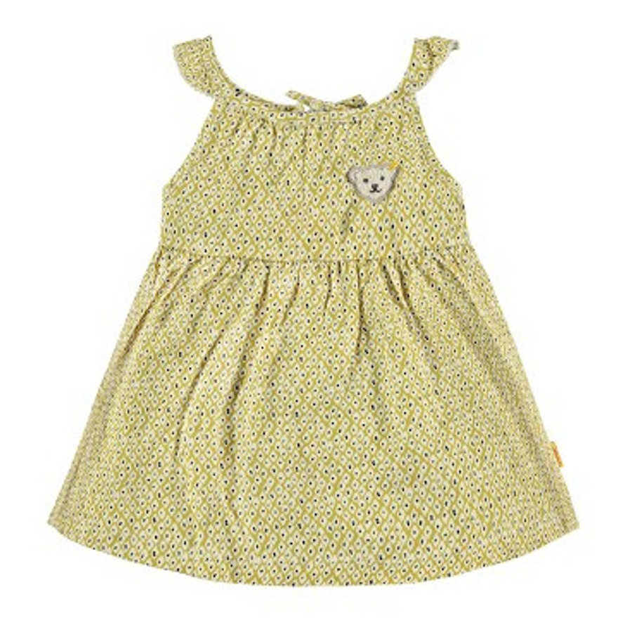STEIFF Girls Kleid yellow