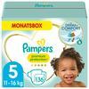 Pampers Premium Protection Windeln, Gr. 5, 11-16kg, Monatsbox (1 x 136 Windeln)