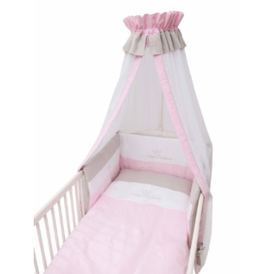 Image of Be Be ´s Collection Bett Set 3tlg. Kleine Prinzessin rosa