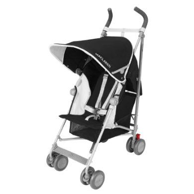 MacLaren Buggy Globetrotter Black-White