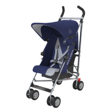 MacLaren Buggy Triumph Medieval Blue-Silver