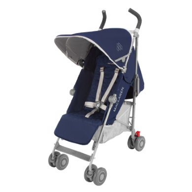 MacLaren Buggy Quest Sport Medieval Blue-Silver