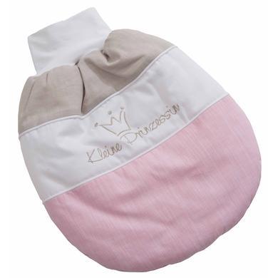 Be Be 's Collection Strampelsack wattiert - kleine Prinzessin rosa