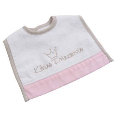 Be Bes Collection Mini suchý zip Bib Little Princess růžová
