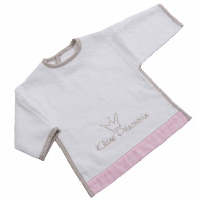 Be Bes Collection Bib s Velcro Little Princess růžová