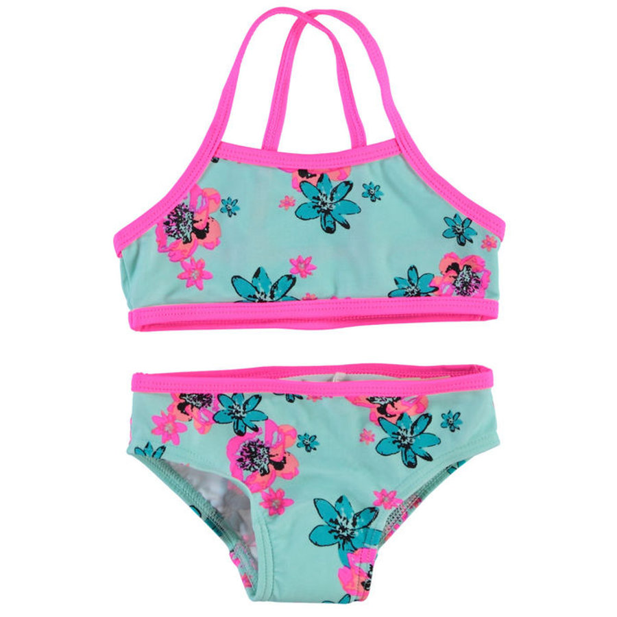 NAME IT Girls Bikini NITZUMMER peacock blue