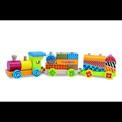 EICHHORN Train Color, petit, 18 pièces