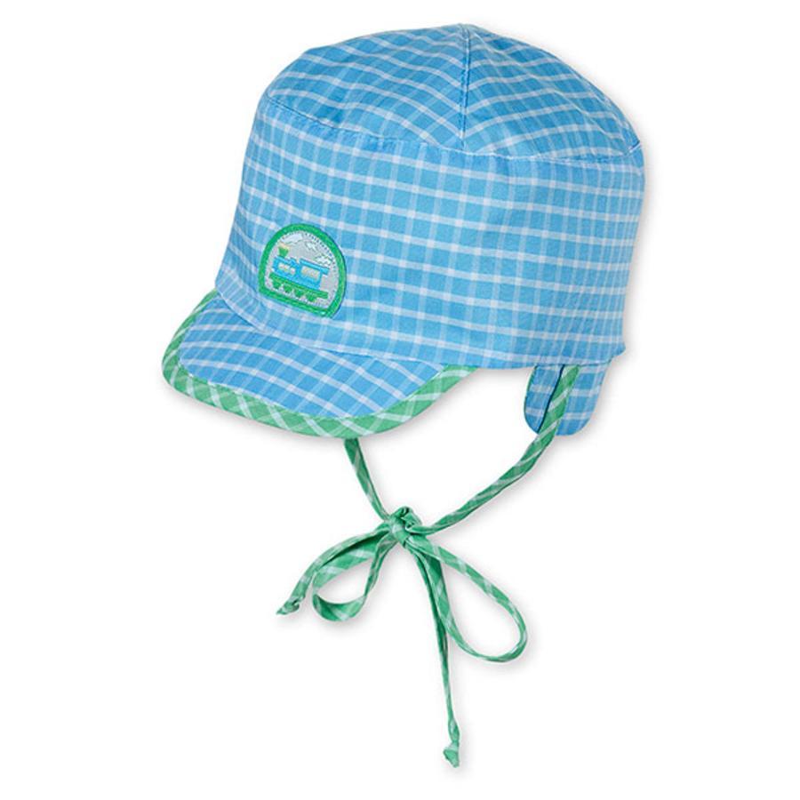 STERNTALER Boys Wende Schirmmütze azurblau grün
