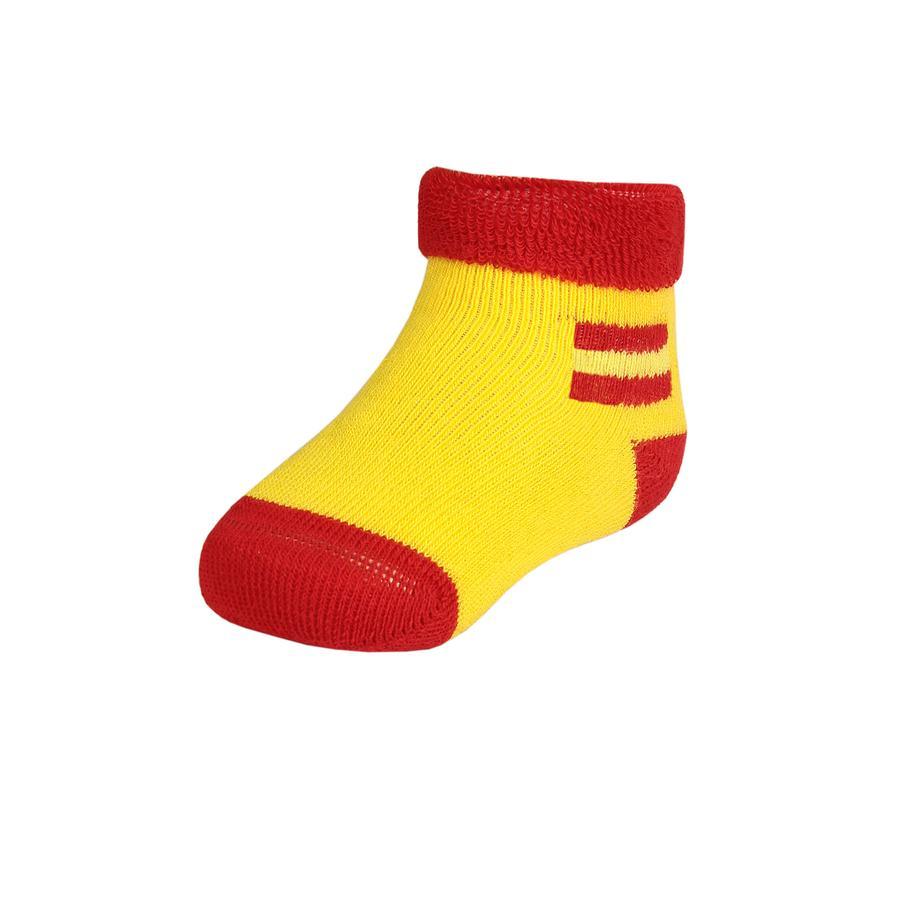 MAXIMO Socken Vollfrottee citrus rot