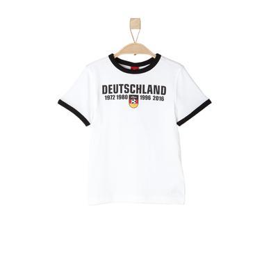 s.OLIVER T-Shirt white - weiß - Unisex