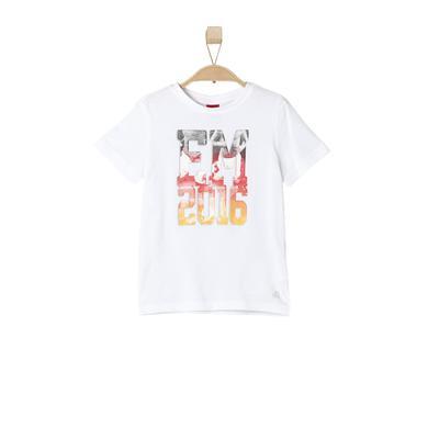 s.OLIVER Boys T-Shirt white - weiß - Jungen