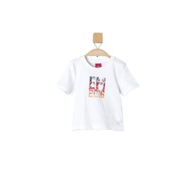 s.OLIVER T-Shirt white - weiß - Jungen