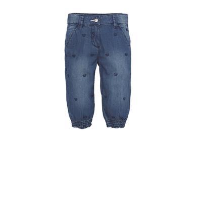 s.OLIVER Girls Jeans 3/4 blue denim regular - blau - Mädchen