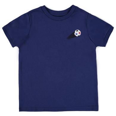 Esprit Boys Soccer T-Shirt Frankreich navy - bl...